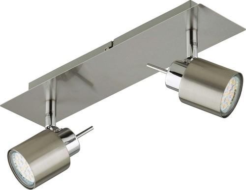 Briloner LED-Schiene incl.2xGU10 LED 2,3W 2006-022