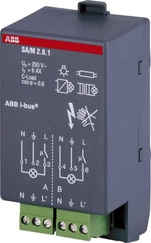ABB Stotz S&J Schaltaktormodul 6A SA/M2.6.1