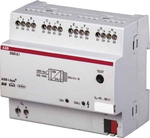 ABB Stotz S&J DALI-Gateway REG 8-fach DG/S8.1