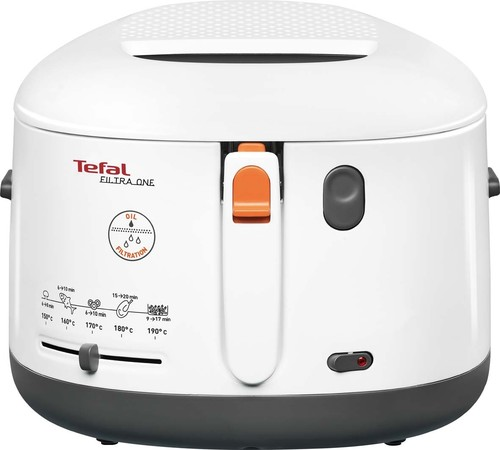 Tefal Fritteuse One Filtra FF 1631 weiß/anthrazit