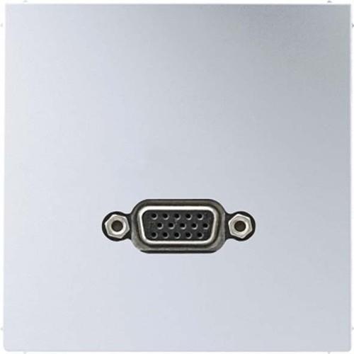 Jung Multimedia-Anschluss aluminium VGA m.Tragring MA AL 1102
