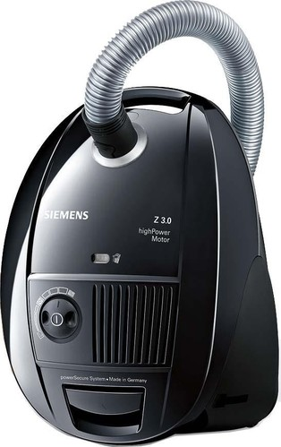 Siemens SDA Bodenstaubsauger Z3.0 VSZ3B212 sw