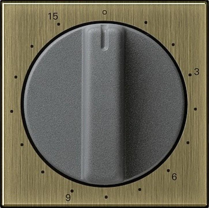 Gira Abdeck. Zeitschalter 15min bronze System 55 0640603