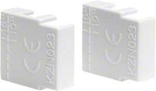 Hager Endkapp f.Phasenschiene 2p. und 3p. KZN023