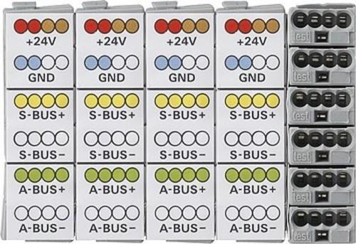 Gira Ersatzklemme 6fach Rufsystem 834 Plus 595600
