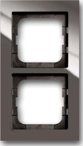 Busch-Jaeger Rahmen 2-fach entree-grau 1722-291