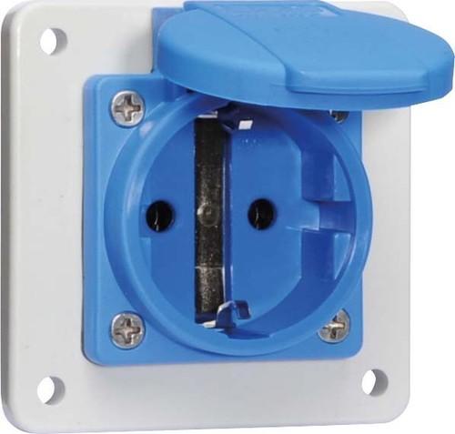 Bals Elektrotech. Schuko-Anbausteckdose 16A IP44 blau 71108