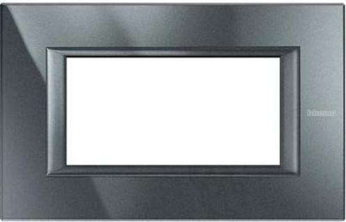 Legrand (SEKO) Axolute Rahmen 4-Modul aluminium schwarz HA4804HS