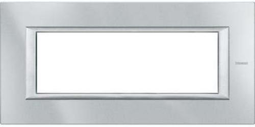 Legrand (SEKO) Axolute Rahmen 6-Modul aluminium grau HA4806HC