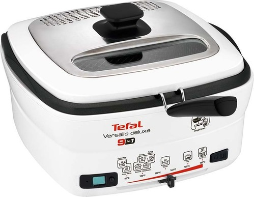 Tefal Fritteuse VersalioDeluxe9in1 FR 4950 weiß/sw