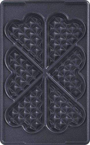 Tefal Plattenset Nr.6Herzwaffeln f.Snack Collection XA 8006 sw/eds