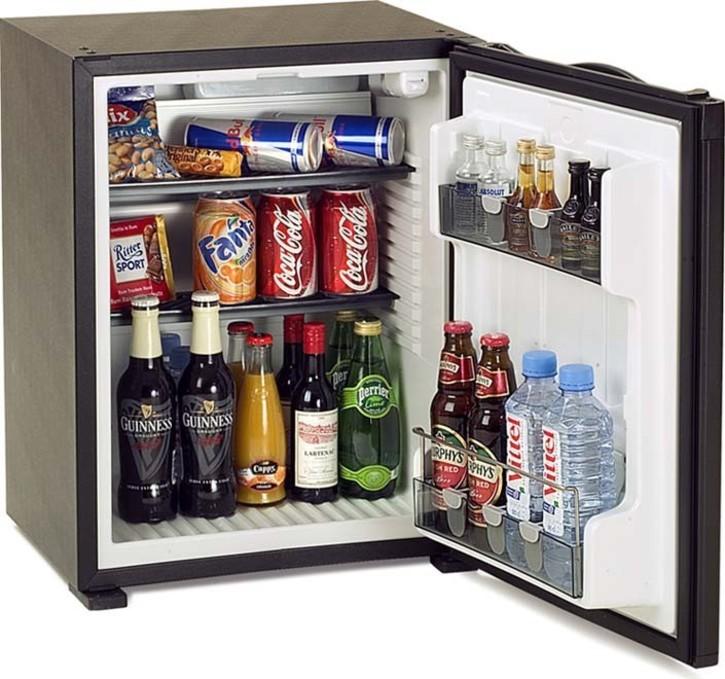 Dometic WAECO Kühlgerät MiniBar 40l,Schleppscharnier RH 141 LDBI