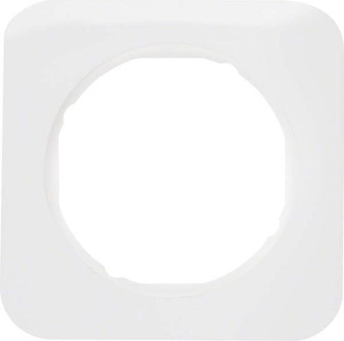 Berker Rahmen pows/gl 1-fach ch, rund 10112189