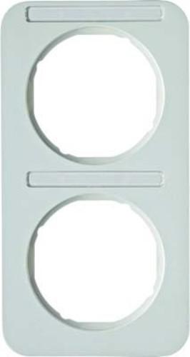 Berker Rahmen m.Beschriftungsfeld polarweiß glänzend 10122169
