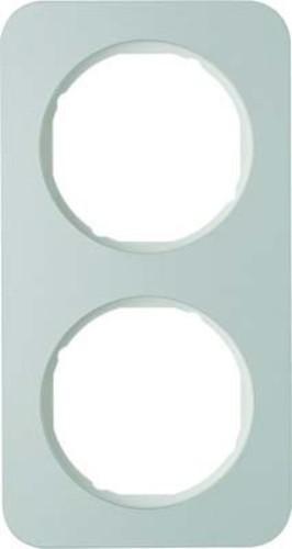 Berker Rahmen Alu/pows 2-fach ch 10122174