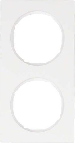 Berker Rahmen pows/gl 2-fach ch 10122289