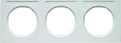 Berker Rahmen m.Beschriftungsfeld polarweiß glänzend 10132279