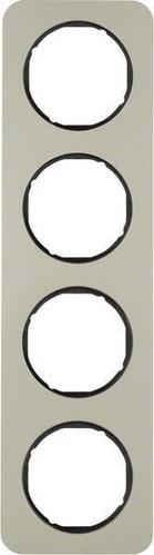 Berker Rahmen Eds/sw 4-fach ch 10142104