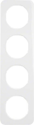 Berker Rahmen pows/gl 4-fach ch 10142189