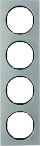 Berker Rahmen Eds/sw 4-fach ch 10142204