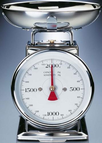 Gastroback Metall-Waage mit Schüsselaufs.2kg 30102