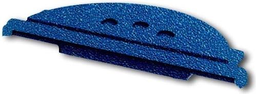 Busch-Jaeger Leitungseinführung blaugn Schieber,2 Einführ. 2134 W-53