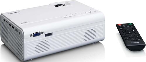 Lenco LCD Projektor BT,HDMI,USB^,SD LPJ-300WH white