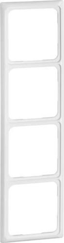 Peha Rahmen 4-fach reinweiß waage/senkrecht D 80.574.02