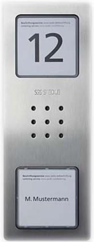 Siedle&Söhne Audio-Türstation Siedle Compact CA 850-1 E