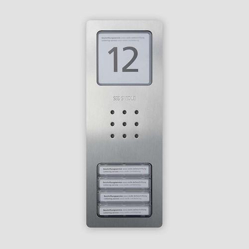 Siedle&Söhne Audio-Türstation Siedle Compact CA 850-4 E