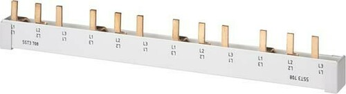 Siemens Indus.Sector Stiftsammelschiene 16mm 214mm m.Endkap 5ST3715