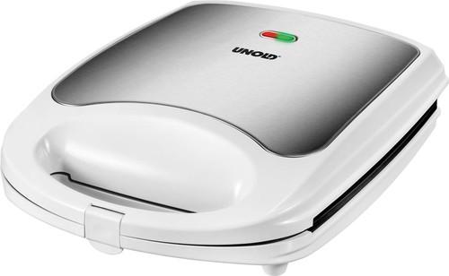Unold Sandwich-Toaster Quadro 48480 weiß/eds