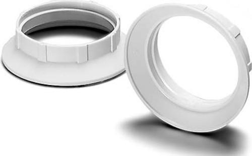 Houben Schraubring E27 weiß,15mm 100270