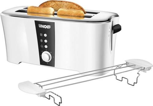 Unold Toaster Design Dual 38020 weiß/sw
