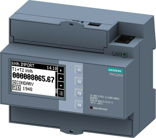Siemens Indus.Sector SENTRON Messgerät 7KM2200-2EA00-1JB1
