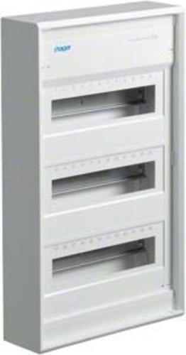 Hager Kleinverteiler, AP Volta IP30,3x12PLE,DIN4387 VA36CN
