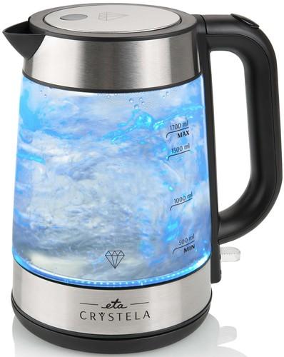 Omega ETA Wasserkocher Glasoptik CRYSTELA 6153