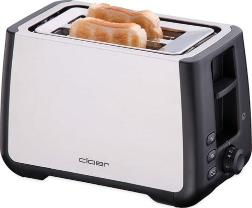 Cloer Toaster 2 Scheiben XXL 3569 eds/sw