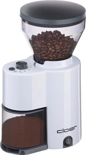 Cloer Kaffeemühle 300g, elektrisch 7521 weiß