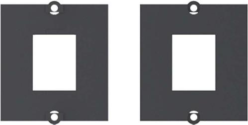 Bachmann Modul 1xKeystone schwarz mit Metallhalterung 917.062