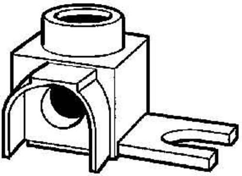 ABB Stotz S&J Anschlußstück 6-25qmm rechtw. AS4I