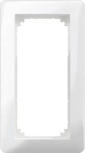 Merten Rahmen 2-fach polarweiß glänzend MEG4025-3519