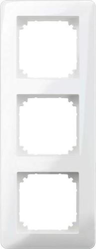 Merten Rahmen 3-fach polarweiß glänzend MEG4030-3519