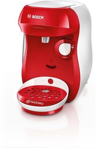 Bosch SDA Heißgetränkeautomat Tassimo Happy TAS1006 bright red
