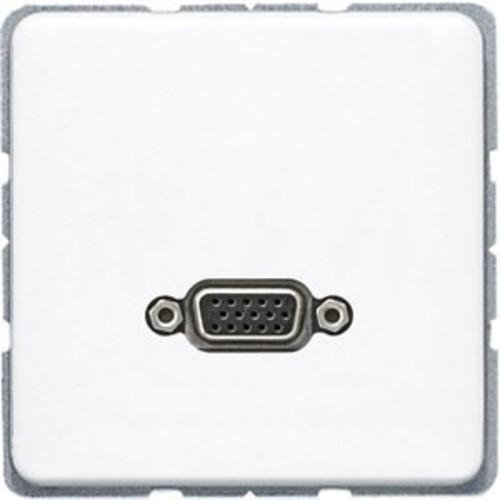 Jung Multimediadose VGA alpinweiß MA CD 1102 WW