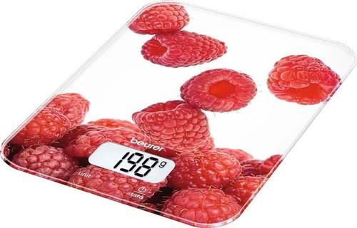 Beurer Küchenwaage LCD-Display KS 19 Berry