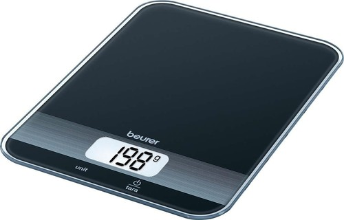 Beurer Küchenwaage LCD-Display KS 19 Black