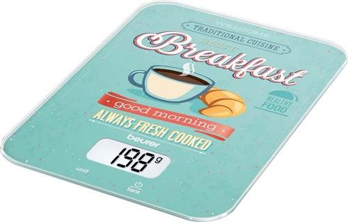 Beurer Küchenwaage ultraflach KS 19 Breakfast