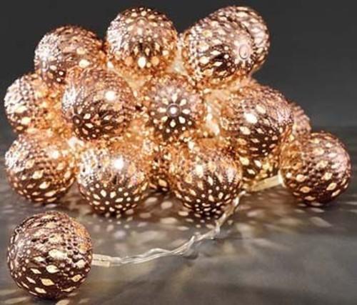 Gnosjö Konstsmide WB LED Dekolichterkette bz Bälle 24 LEDs wws 3156-603
