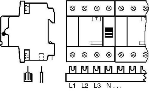 ABB Stotz S&J Sammelschienenblock SZ-PSB 61 N